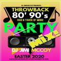 80s 90s RnB N TOUCH OF MORE THROWBACKS MIX! EASTER 2020 DJ JIMI MCCOY! COMMENT//LIKE//SHARE//REPOST/