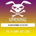 UPRISING 13/12/1996 DJ DAVE FORBES