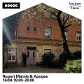 Rupert Marnie & Apogee (Live from Home)