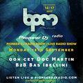 Doc Martin B2B Bas Ibellini - Live In The Pioneer DJ Radio Room at The BPM Festival PortugaL