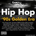 #TheThrowbackMix - Hip Hop '90s Golden Era