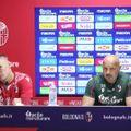 CONFERENZA STAMPA PRE-PARTITA INTER-BOLOGNA FC1909