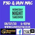 P3D & Iain Mac Live & B2B on Sunrise FM Trance Anthems 08.07.20