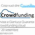 Radio Stonata. Non solo Crowdfunding. 20.09.2017. Crowd-funding.cloud