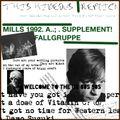 MILLS 1992 A - FALLGRUPPE SUPPLEMENT