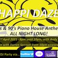 HAPPI DAZE LIVE DJ Stream - Fri 2nd April 2021