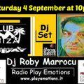 Club Ibiza set 04/09/2021 dj Roby Marrocu