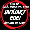 BEST OF Liquid Drum And Bass JANUARY 2021 - H&S Hall Of Fame