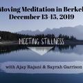Meeting Stillness Berkeley Workshop, Integration Wave, 12-15-19