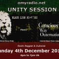 Black Lion HI*Vibes Sound System Meets Conscious Way Outernational 4th December 2016
