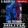 Black-series podcast X-Raum dj & moreno_flamas NTCM m.s Nation TECNNO militia  021 factory sound