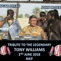 ONE MINUTE SILENTS FOR THE LEGENDARY TONY WILLIAMS 2nd JUNE 2018 VIBESFM.NET