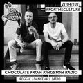Chocolate From Kingston Radio - 21.04.2021   #fortheculture