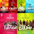Lanzamiento Festival Sirena Pelluhue 2017 En Club Madero Linares (Dj Black Concepcion Dj Nach Linare
