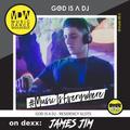 21.00 - 22.00 GOD IS A DJ - JAMES JIM [28.06.20]
