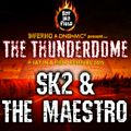 SK2 & Maestro - Inferno Thunderdome stage @ Sat In A Field Festival 2015 set - 30-08-15