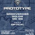 Optical (live P.A.) & Mc GQ // Prototype Night @ MS Connexion Mannheim, Germany (20.02.1998)