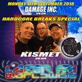 Damage Inc. Hardcore Breaks Special September 2018 Live On Lazer FM     (Epic 5 Hour Show)