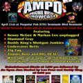 AMPD Original Music Showcase from Screwie Louie's Porpoise Pub 4/21/2013