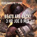 beatsRback 3hr mix show by JOE BELMAREZ