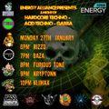 DJ Klimax - Live DJ Set - Energy1058.com - 94/95 Hardcore Techno - 27/01/2020