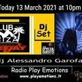 Club Ibiza set 13 March 2021 dj Alessandro Garofani