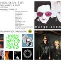 SYNTHOLOGY 101 March 2020 Edition hosted by DJ DINO on JOLT RADIO
