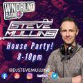 DJ Steve Mullins - House Party - 02th September 2021 - WNDRLND Radio