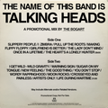 THE NAME OF THIS BAND IS TALKING HEADS - A DJ MIX BY THE BOGART