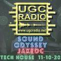 JakeDC Sound Odyssey Tech House 11-10-20