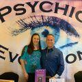 Jamie Clark and Maggie Clark with caller 07-27-2021