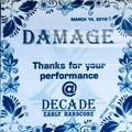 DAMAGE@DECADE