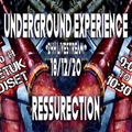 "BETUK DjSet - From UNDERGROUND EXPERIENCE  Stream ""Ressurection"""