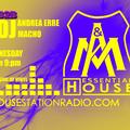 Essential House 22 March 2017 Andrea erre & Macho Dj - Housestationradio live - only vinyl