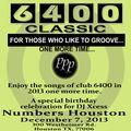 6400 Classic Dec. 7th 2013
