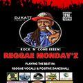 DJ Katt's Reggae Monday'z Show 7th Sept 2020