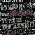 Koney @ Dark Matter Showcase on Gabber.FM 25/11/2014