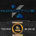 Komotive - Techno Madness - Live on Essential Clubbers Radio 18-02-2021