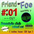DieOne_Techno Freestyle club mix demo set  Jan-09-2021