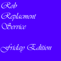 SPeedY_B - Rob Replacement Service Friday Edition
