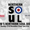 Bob's Northern Soul Disco, for Back in the Day, 27/12/20