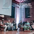 Conversatorio 'Escuchas periféricas' · Semana de la Escucha 2019