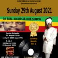 JUNIOR DELGARDO & LEE SCRATCH PERRY TRIBUTE SHOW 29TH AUGUST 2021 ROCKERS & DUB SHOW