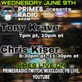 prime8radio_official Live! with Tony Krave and Chris Kiser