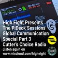 The PiDeck Sessions #010 on Cutter's Choice Radio 22nd Oct 2020 - Global Communication Special