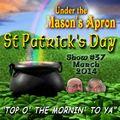 Under the Masons Apron Folk Show #37 (Mar 2014)