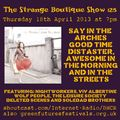 The Strange Boutique Show 125