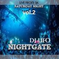 ERSEK LASZLO alias Dj UFO presents THE NIGHTGATE vol 2 . SATURDAY NIGHT LIVE FROM SK