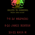 JAMIE RENTON x FOREIGN OFFICE - SALUTE TO CARNIVAL