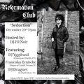 "DJ Dragnet - Reformation #7 - ""Seduction"" (20-12-2020)"